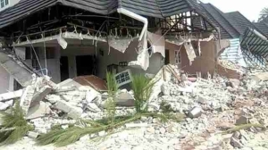 Rivers State Government Demolish Notorious Kidnaper